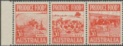 SG 258a ACSC 290ec. Produce Food - 3½d Food strip (AE1/59)